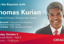 Oracle Thomas Kurian at OpenWorld 2017