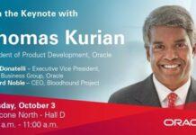Oracle Thomas Kurian at OpenWorld 2017