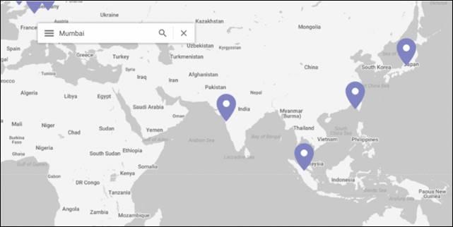 Google India Cloud in Mumbai