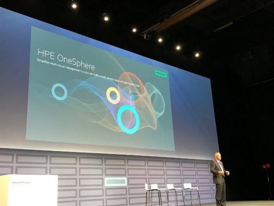HPE OneSphere launched