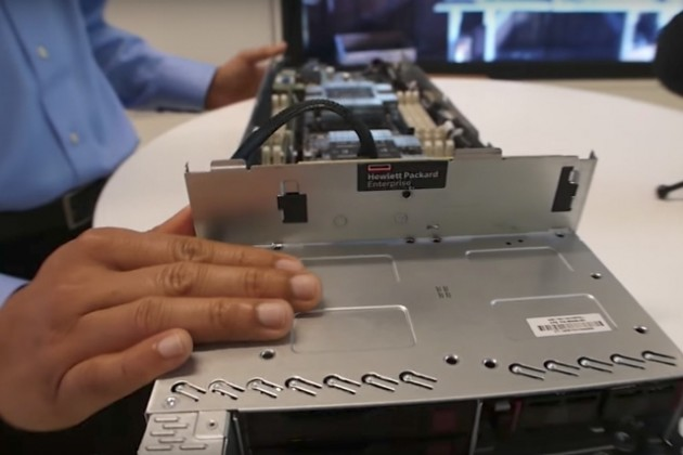 HPE ProLiant DL385 server with AMD