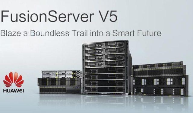 Huawei FusionServer V5 servers