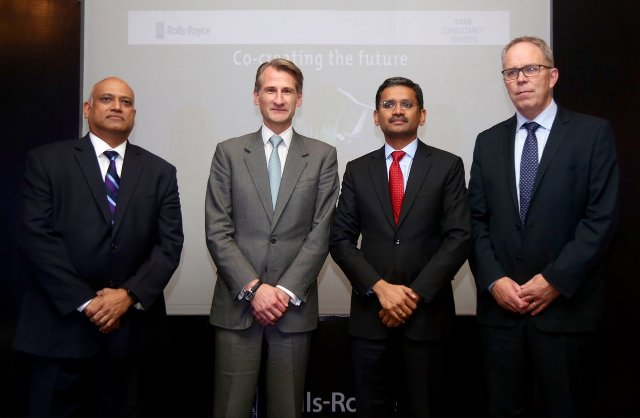 TCS and Rolls-Royce in digital deal