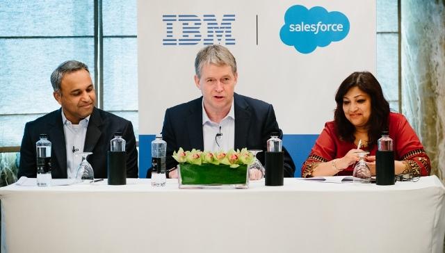 IBM and Salesforce India