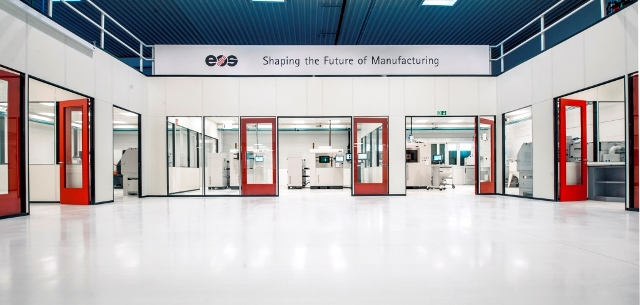 EOS 3D printing center in Germany