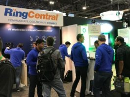 RingCentral at a trade event