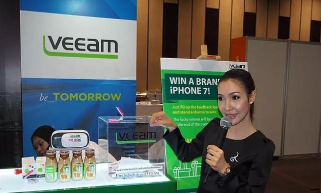 Veeam Software channel event