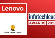 InfotechLead Award 2017 Channel Company – Lenovo