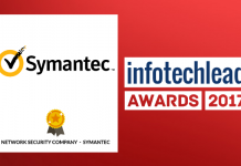 InfotechLead Award 2017 Network Security Company – Symantec