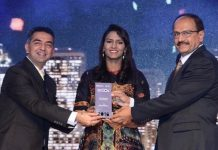 Pratap Gharge receiving a CIO award