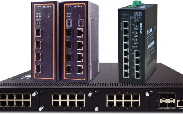 D-Link switches for enterprises