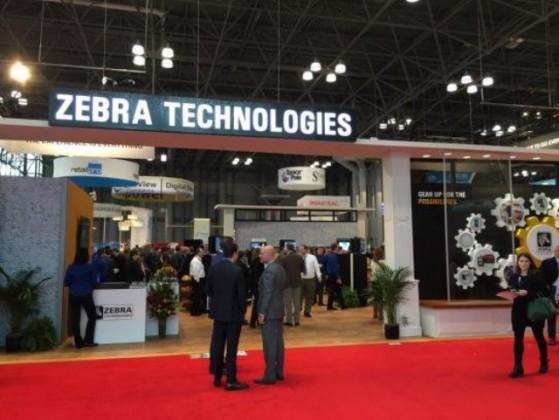 Zebra Technologies at an IT event
