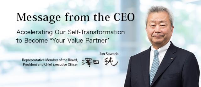 NTT CEO Jun Sawada