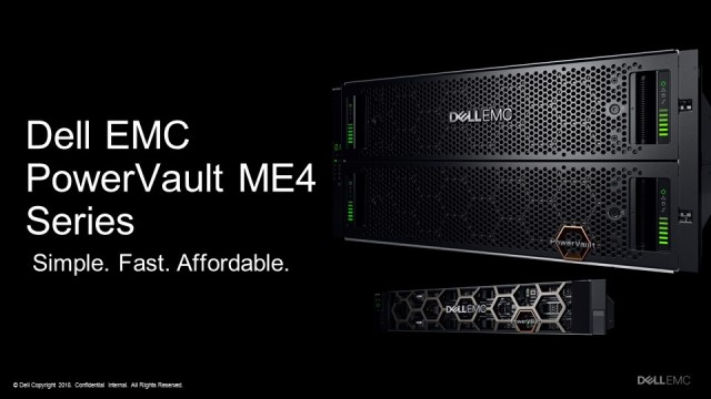 Dell EMC PowerVault ME4 storage