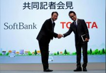 SoftBank in IoT venture with Toyota