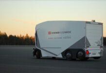 5G powered self-driving trucks