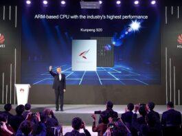 Huawei ARM-based CPU